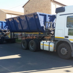 34 ton side tipper for hire/rent