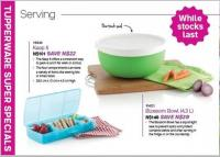 Enjoy exclusive Brands from Tupperware