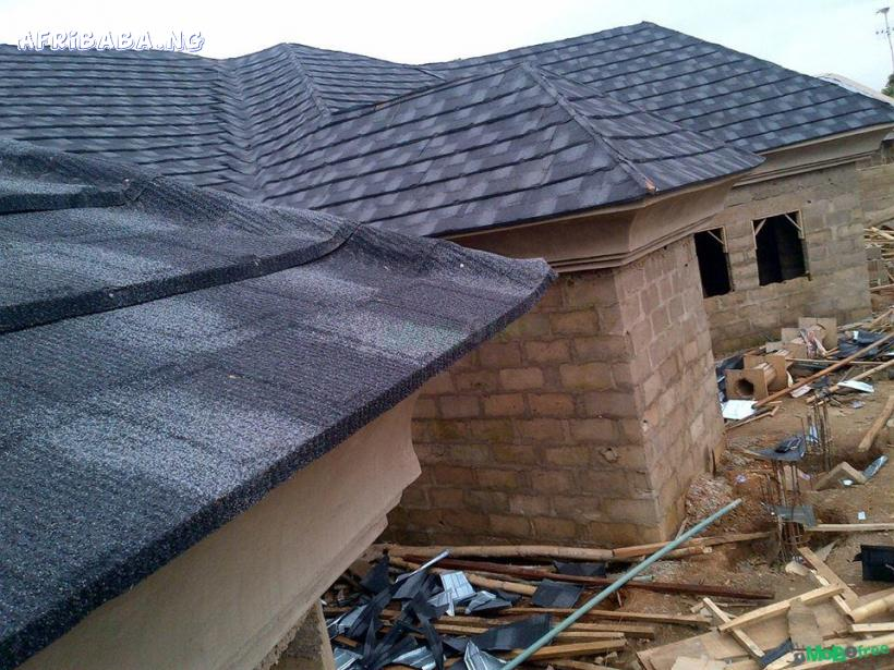 original stone coated step tile  roofing sheet you can ever find #1