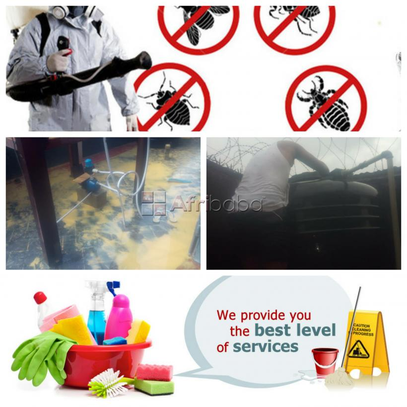 For your cleaning & fumigation service in lagos