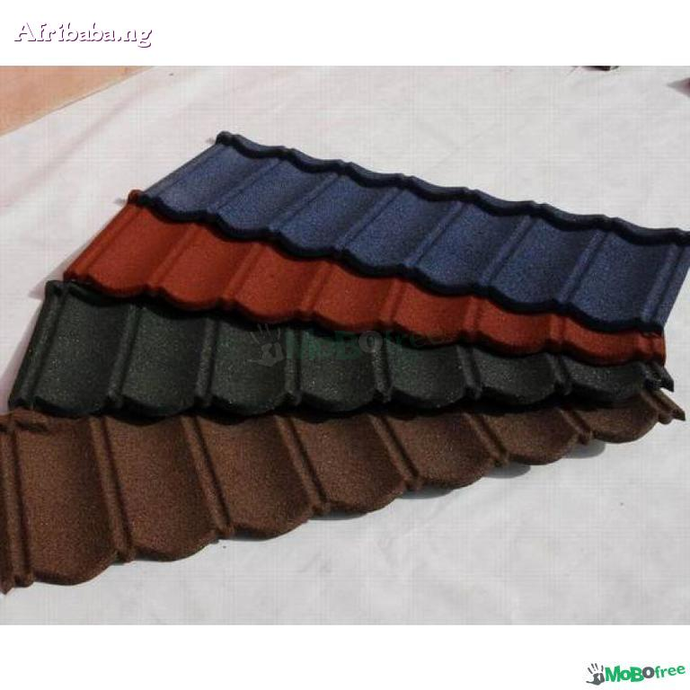 stone coated step tile roofing sheet #1
