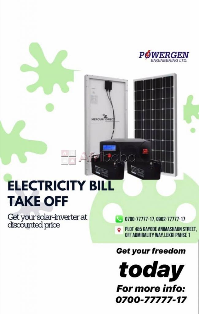 Get Your Solar-Inverter at Discounted Price From Powergen Engineering