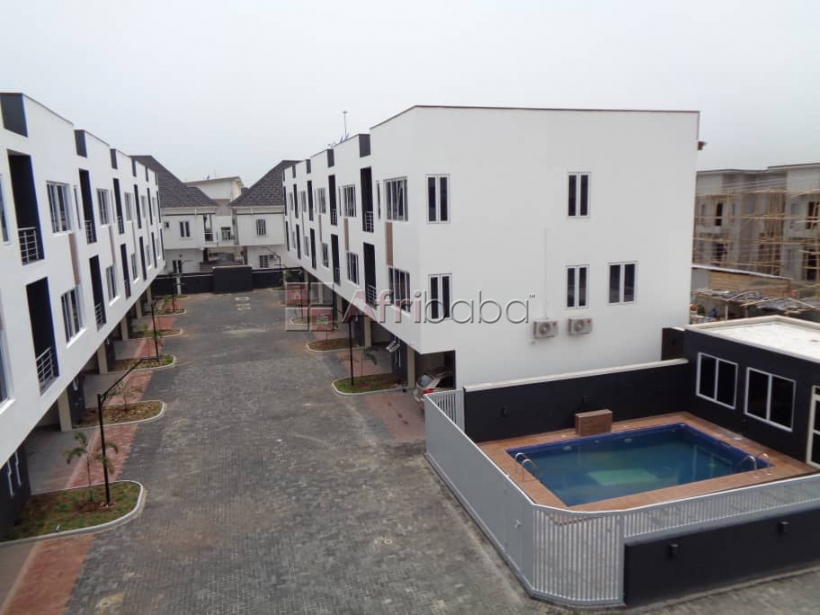 Luxury 3 bedroom terrace duplex with bq with swimming pool ,fully serv #1