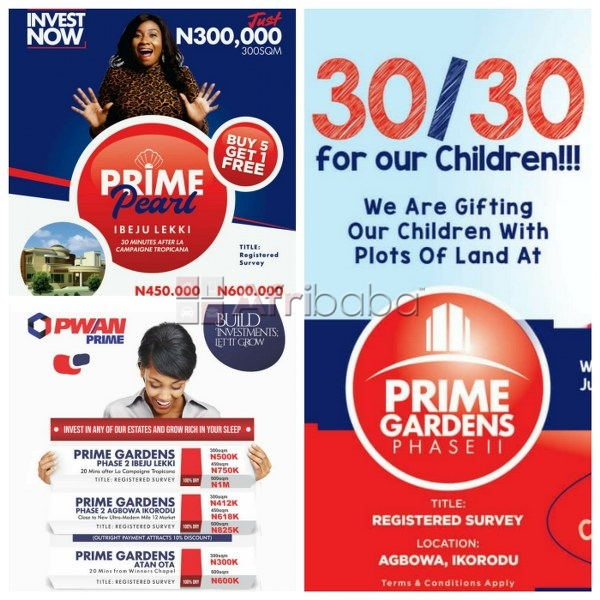 We have plots of land in lagos for sale in lagos