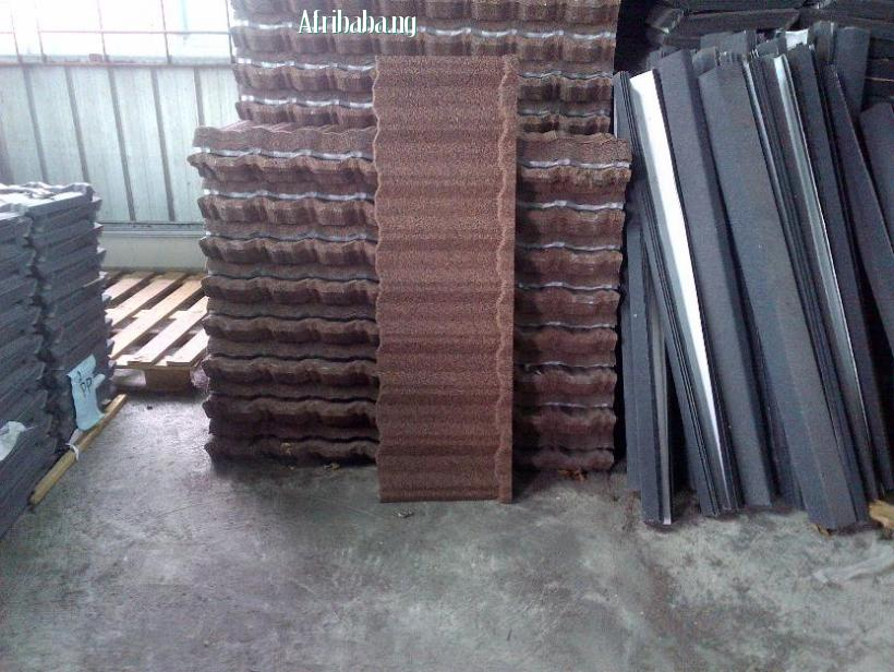 stone coated step tile roofing sheet with a difference #1