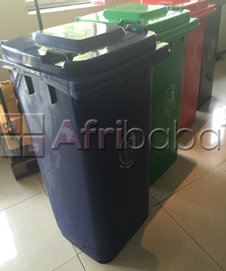240 Litre Waste Bins with 2 Wheels & Cover #1