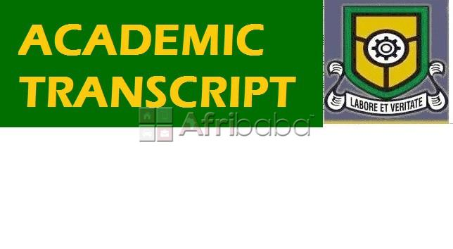 Apply for yaba tech transcript and fast track it