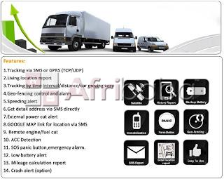 Vehicle tracking for cars and trucks