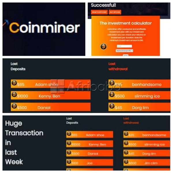 Coinminer gives you an opportunity to earn money ( find out more )