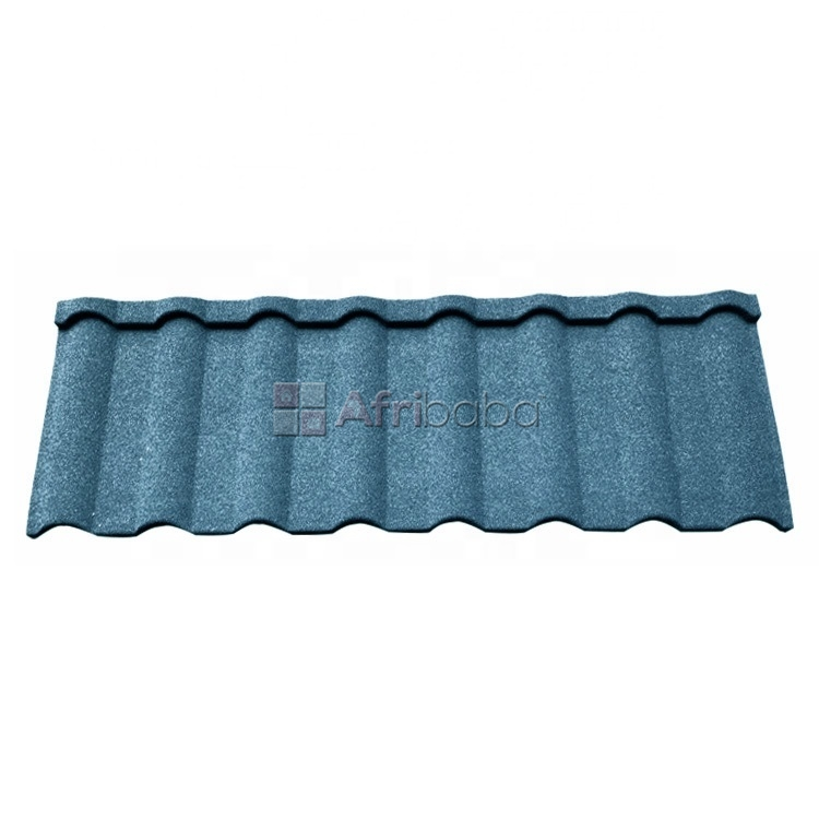 Docherich quality classic and roman stone coated roofing sheets