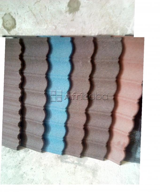 Docherich Ltd prime stone coated roofing sheet, O8O37O4I582.. #1
