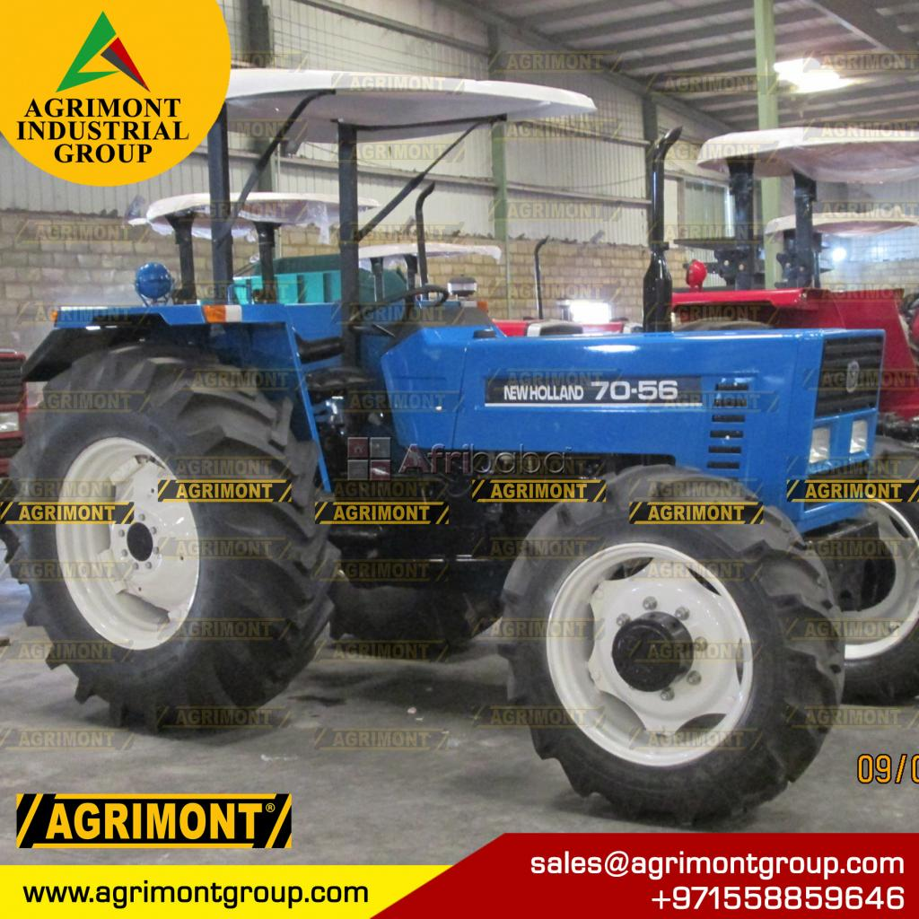 New Holland 7056 Tractor, 4wd, 85hp #1