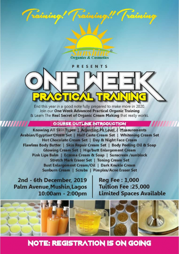 Join Our One Week Advanced Practical Organic Training