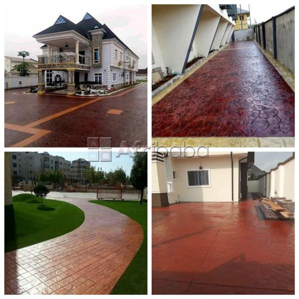 At Dave Tiles Limited, We Sell and Install Stamps Concrete