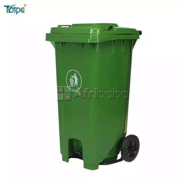 120 Liter Trash bin With Center Foot Pedal Available #1