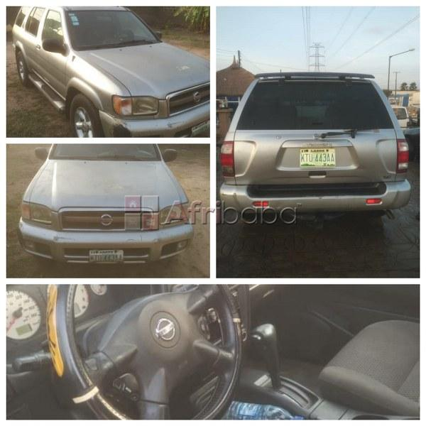 Clean nissan pathfider 2003 with chilling a/c @ just 700k