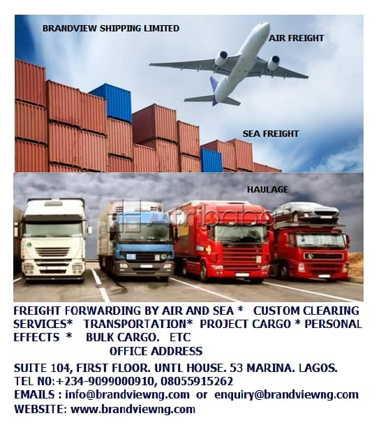 Weekly air  freight from dubai to lagos