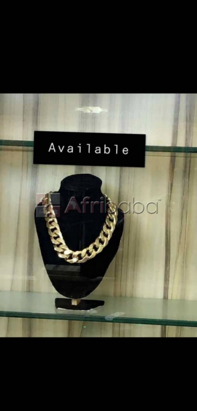 We sell quality cuban gold necklace (call or whatsapp -  )