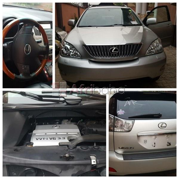 Lexus rx  model tokunbo for sale