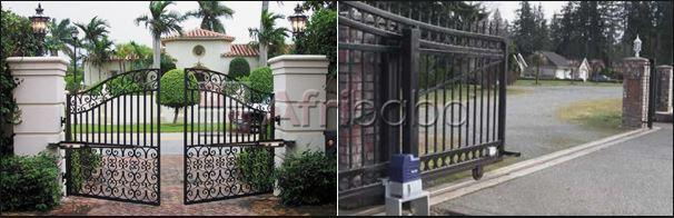 Remotely open your gate with your phone