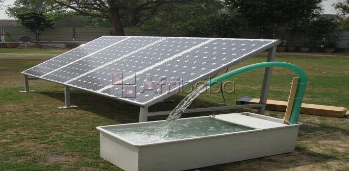 Solar Water Borehole System IN NIGERIA
