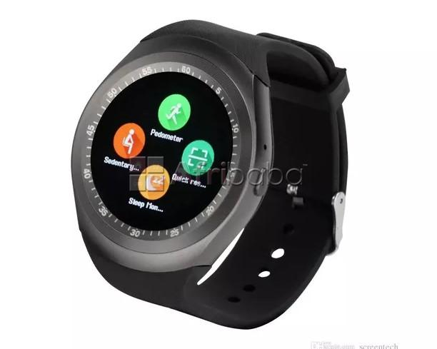 Bluetooth smart gsm wrist watch on grineria\'s store