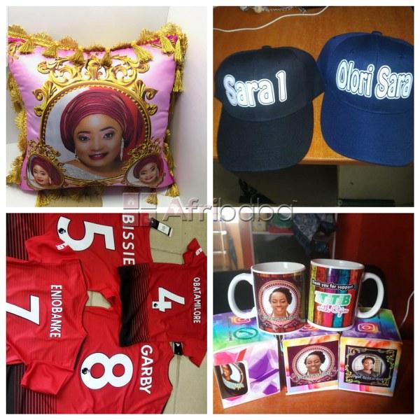Get your name, brand,logo or picture customized on your accessories
