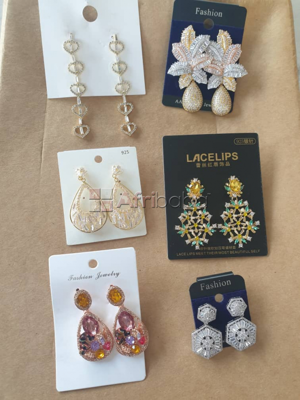 Order For Your Earrings ( Sterling Silver, Cubic zirconia, and more)