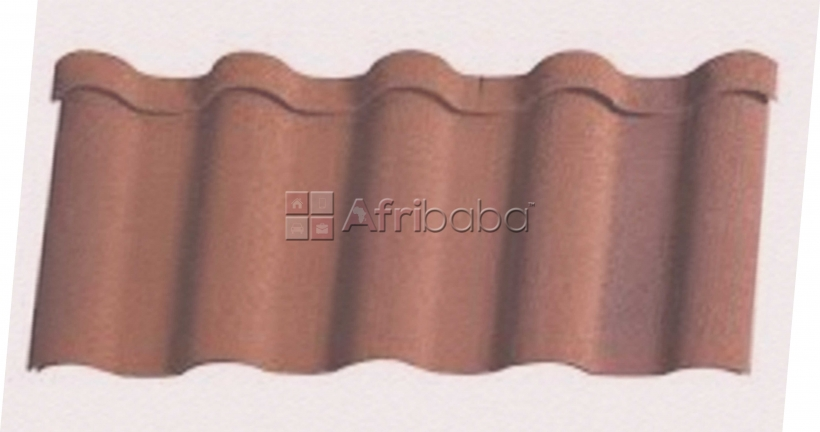Milano korea gerard stone coated roofing & water gutter