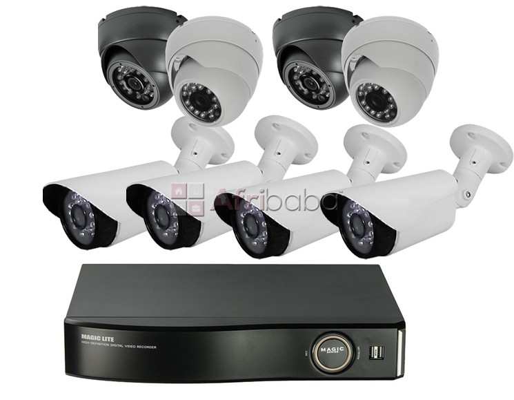 Cctv 4 channel security system for supermarket in benin city. #1