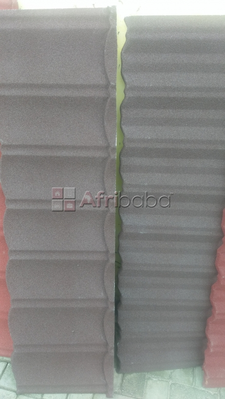 Metrotile quality stone coated roofing sheet.