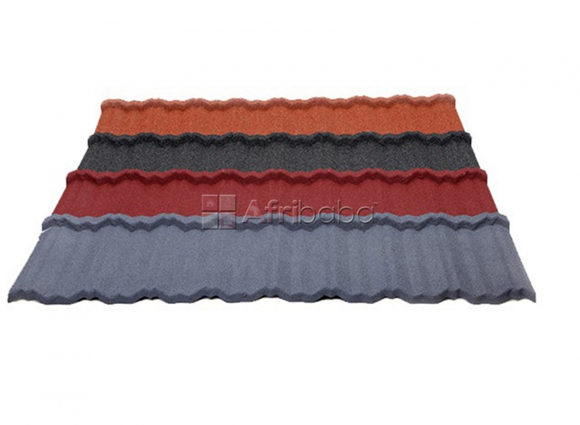 Tiger shingle and bond available at docherich stone coated roof tiles