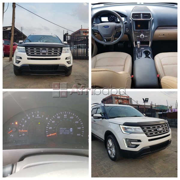 Ford explorer 2017 model limited for sale (call or whatsapp