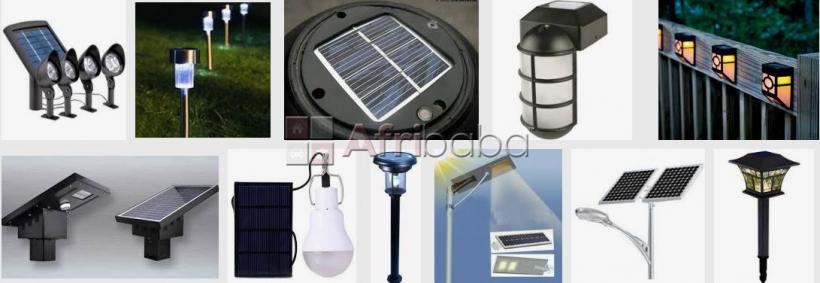 Solar street lights and appliances in nigeria