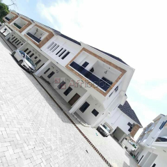 4bedroom luxury fully serviced terrace for sale in lekki
