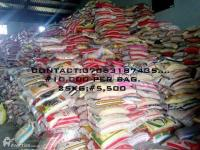 RICE FOR SALE  10,000 PER BAGS