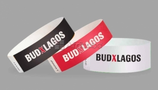 Customized Tyvek and Fabric Event Wristband In Nigeria