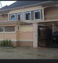 A luxury 4 bedroom semi detached duplex with 1 room bq for sale
