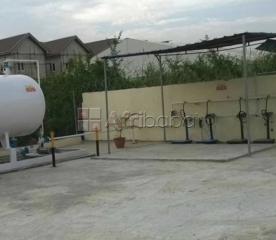 A 5.7 ton skid gas plant for sale