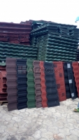 Ehiros-plus ( Stone coated step tile roofing sheet , roof tile kwara Ilorin