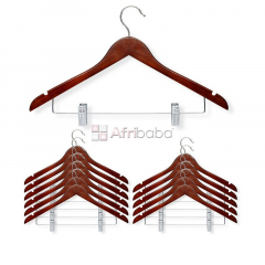 Order Your Quality Wooden Clothes Hanger -12Pack (Unisex)