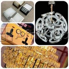 Chandeliers, Wall Lamp, Wall Sockets and more for sale
