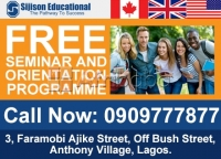 FREE ONE DAY ORIENTATION SEMINAR ON SCHOOLING ABROAD.