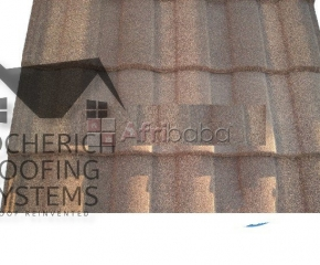 Docherich prime roman and milano stone coated roofing sheets