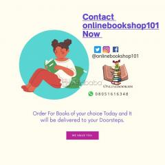 Order any Book of Your Choice from Onlinebookshop101