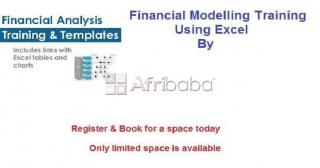 Financial modeling in excel training