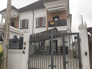 For sale new 4 bedroom semi detached duplex with bq and  inverter.