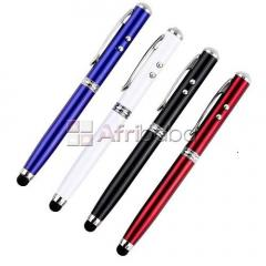 Universal 4 in 1 stylus pen for apple ipod, ipad, iphone or any other