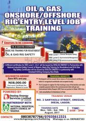 oil and gas offshore training