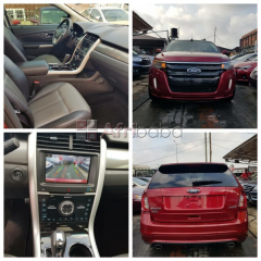 Red 2013 Ford Edge Sport Full Option For Sale (Call or Whatsapp)